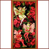 Panel Holiday fairy red DC5537 H2